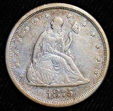 1875-S 20 Cents. High Grade
