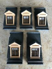 PLAYMOBIL: Victorian Mansion -- 5 Roof pieces with Dormers (no finials).