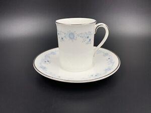 Royal Doulton Angelique Small Coffee Espresso Cup Saucer Bone China England