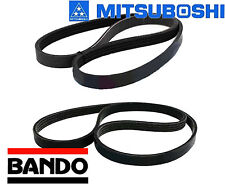 SUZUKI ESTEEM 1.6L 1998-2000 DRIVE BELT KIT A/C ALTERNATOR P/S OEM QUALITY BELTS