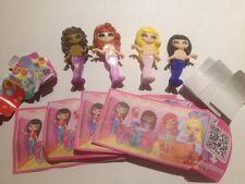 Hello Kitty Komplettsatz Mädchen der Welt FF514 FF515 FF516 FF517 mit allen BPZ