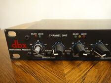 DBX 166X Stereo Slave Over Easy Compressor Limiter Half Rack Unit getestet, funktioniert