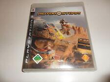 PlayStation 3  PS 3  MotorStorm