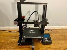 Used CREALITY 3D Ender-3 Large Print Size 220*220*250mm Prusa 3D Printer Kit