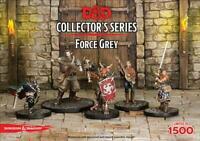 Dungeons & Dragones Collector's Series Force Gris D&d Miniatures Figuras