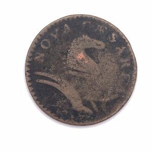 New Jersey Cent Nova Caesarea Horse & Plow/Shield E Pluribus Unum