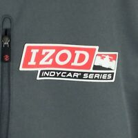 IZOD Men's Indy Car Series Performance X Gray 1/4 Zip Jacket