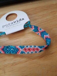 NEW🏖Pura vida bracelet braided friendship macrame