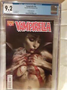 VAMPIRELLA #19 CGC 9.2 Early Sexy Lucciano Parrillo Variant Cover