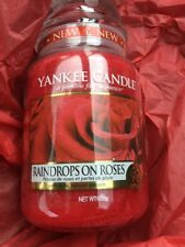Yankee candle Raindrops On Roses Mft Collection
