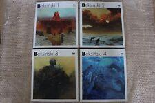 Zdzislaw Beksinski FULL COLLECTION 1-2-3-4 HARDCOVER (Polish and English Album)