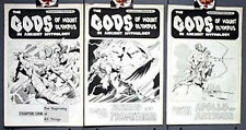 Gods Of Mount Olympus #1-3 Tabloid Size Comics Staton