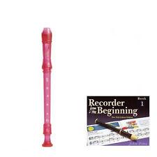 Yamaha contrapunto Rosa grabadora de la escuela libro con 1