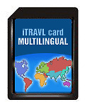 ECTACO NTL-9C 2GB SD Card Multilingual - all iTRAVL