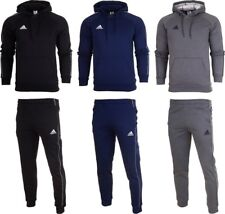 9829f3e729b Adidas Core 18 Mens Fleece Full Tracksuit Hoodie Top Bottom Pants Training  SM2XL
