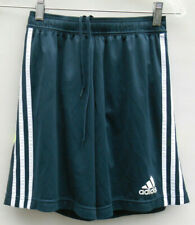 Boys' Adidas Adizero Climacool Black White Yellow Soccer Shorts Size L