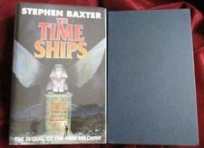 Stephen Baxter - THE TIME SHIPS - 1st - Signed - RARE BOOK