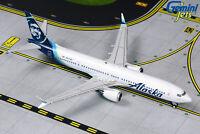Alaska Airlines 737 MAX 9 N913AK Gemini Jets GJASA1873 Scale 1:400 IN STOCK