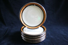 8x vintage bread and butter plates Rörstrand Annika, Made in Sweden