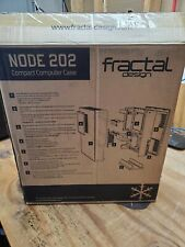 Fractal Design Node 202 Mini ITX Desktop Case - Black