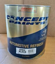 Concept GMH Black / RFU Black, 4LT. Automotive Paint. Chasis Black