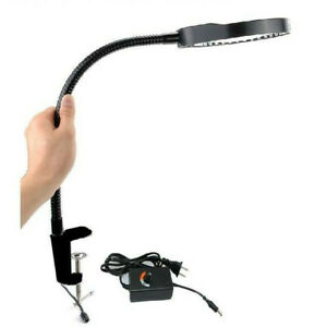 8X LED Lighted Table Top Magnifier Magnifying Glass Lamp for PCB Repairing