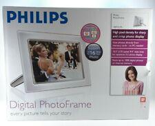 Philips Digital Photo Frame - 10FF2 - White & Silver