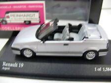 1/43 Minichamps Renault 19 Cabrio 1992 silber