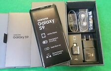New Inbox Samsung Galaxy S9 SM-G960 - 64GB - Coral Blue (GSM + CDMA Unlocked)