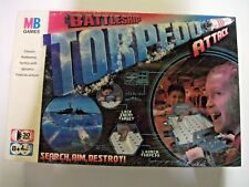MB GAMES BATTLESHIP TORPEDO ATTACK BOARDGAME BRAND NEW SEALED FREE P&P