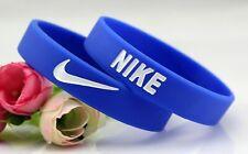 Nike Blue White Baller band rubber bracelet wristband unisex BEST RATED