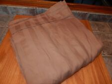 CANOPY, CAMEL STRIPED  KING FLAT SHEET ,NICE