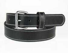 """50WS-ST_1 1/4"""" STITCHED_HEAVY DUTY LEATHER GUN HOLSTER_WORK BELT_AMISH MADE"""