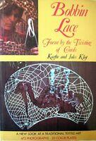 BOBBIN LACE Form by the Twisting of Cords by K & J Kliot (Hardback 1973) - VGC