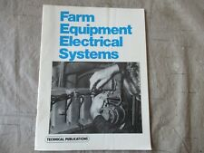 Farm Equipment Electrical Systems Manual 1985 Intertec Publishing