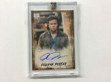 2018 The Walking Dead Topps Authentic Eugene Porter Autograph Auto Card # 20/25