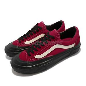 Vans Style 36 SF Red Black Men Classic Casual Lifestyle Shoes VN0A3ZCJ2VR
