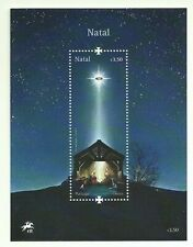 PORTUGAL NATAL CHRISTMAS MNH SOUVENIR SHEET WITH LED - 2019 - 1st in the WORLD