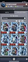 Topp Marvel Collect Full 17 Card Thorsday Set