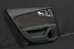 Audi A7 S7 RS7 4G Door Fairing Leather Alcantara Handle Aluminium Rear Left Hl