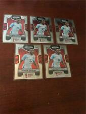 2018 Panini Prizm World Cup Soccer lot of 5 Raheem Sterling ENGLAND Base Cards