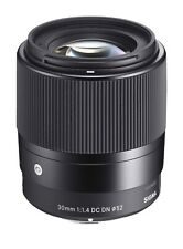 Sigma 30mm 1.4 Sony E Mount Lens