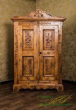voglauer Anno 1600 Farmhouse Wardrobe Wardrobe Hallway Cupboard Cottage Wardrobe