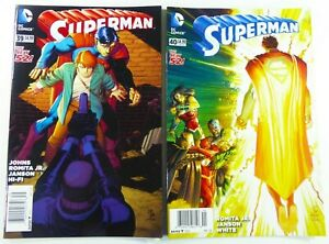DC SUPERMAN (2015) #39 40 RARE NEWSSTANDS VF to VF/NM Ships FREE!