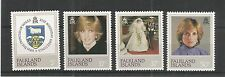 FALKLAND ISLE 1982 21ST BIRTHDAY PRINCESS OF WALES SG,426-429 U/M N/H LOT 3259A