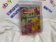 1988 Playmates TMNT Splinter Teenage Mutant Ninja Turtles MOC 10 Back Zolo Case