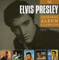 ELVIS PRESLEY Original 5CD NEW Elvis/E.P./Loving You/Elvis Is Back!/GI Blues