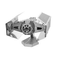 Metal Tierra Star Wars 3d Corte Láser Miniatura Modelo Kit Darth Vaders Tie Fighter