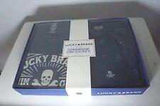 Lucky Brand  NIB Men's L - Short Sleeve Tee Shirt & Pant Sleep Pajama Set Skull