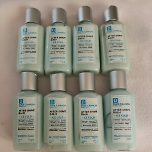 Lot Of 8 Duke Cannon After-Shave Balm Travel Size 2.3 fl oz Each